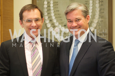 Richard Seaton, Mark Lowham.  TTR Sotheby's and Cartier's, April 18, 2012. Photo by Ben Droz