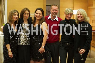 Fariba Jahanbani, Margaret Curran, Susan Ladani, Mel Hilburn, Nickie Jordan, Jayne Ehrens. TTR Sotheby's and Cartier's, April 18, 2012. Photo by Ben Droz