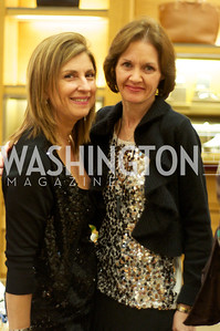 Fariba Jahanbani, Margaret Curran. TTR Sotheby's and Cartier's, April 18, 2012. Photo by Ben Droz