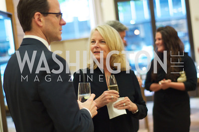 Lawrence Calvert, Jayne Ehrens,TTR Sotheby's and Cartier's, April 18, 2012. Photo by Ben Droz