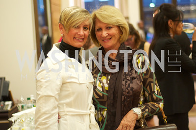 Nickie Jordan, Maggie Shannon. TTR Sotheby's and Cartier's, April 18, 2012. Photo by Ben Droz