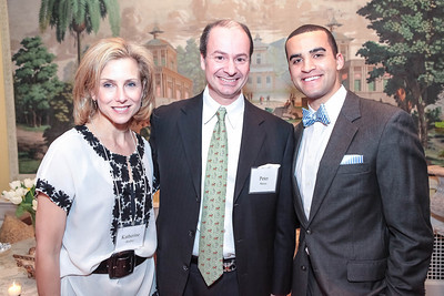 Katherine Bradley, Peter Manos, Marshall Pollard. Cocktail Kick-off Party for Teach For America's May 9, 2012 Gala. The home of Katherine and David Bradley. January 24, 2012. Photos by Alfredo Flores