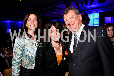Kim Nettles, Izette Folger, Pat Nettles. Teach for America Gala. Ritz Carlton. Photo by Tony Powell. May 9, 2012