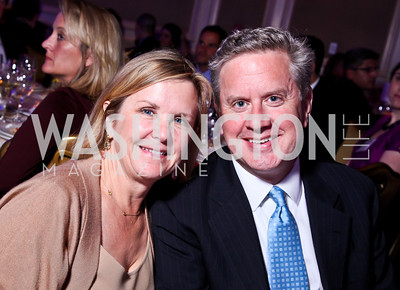 Connie and Casey Carter. Teach for America Gala. Ritz Carlton. Photo by Tony Powell. May 9, 2012