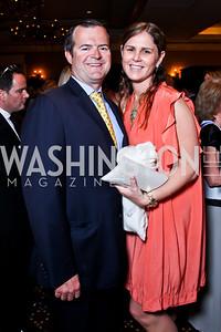 Ande Grennan and Mae Haney Grennan. Teach for America Gala. Ritz Carlton. Photo by Tony Powell. May 9, 2012