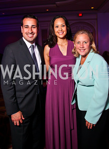 Special Assistant to President Obama for Education Roberto Rodriguez, TFA Exec. Dir. Ahnna Smith, Sen. Mary Landrieu. Teach for America Gala. Ritz Carlton. Photo by Tony Powell. May 9, 2012