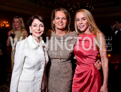 JoAnn Mason, April Delaney, Cindy Jones. Teach for America Gala. Ritz Carlton. Photo by Tony Powell. May 9, 2012