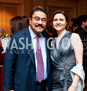 Bob and Paula Hisaoka. Teach for America Gala. Ritz Carlton. Photo by Tony Powell. May 9, 2012