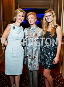 Gala Chair Christie Weiss with mother Audre Carlin and daughter Nathalie Weiss. Teach for America Gala. Ritz Carlton. Photo by Tony Powell. May 9, 2012
