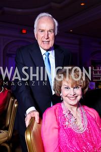 Lloyd and Ann Hand. Teach for America Gala. Ritz Carlton. Teach for America Gala. Ritz Carlton. Photo by Tony Powell. May 9, 2012