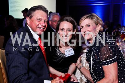 Chip Akridge, TFA '10 Alum Clair Briggs, Sally Akridge. Teach for America Gala. Ritz Carlton. Photo by Tony Powell. May 9, 2012
