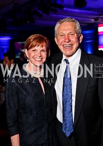 Nancy and Ronald Fletcher. Teach for America Gala. Ritz Carlton. Photo by Tony Powell. May 9, 2012