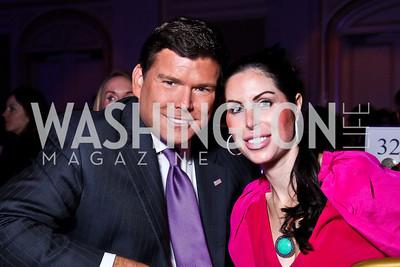 Bret and Amy Baier. Teach for America Gala. Ritz Carlton. Photo by Tony Powell. May 9, 2012