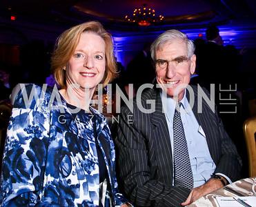 Julie Petersmeyer, C. Boyden Gray. Teach for America Gala. Ritz Carlton. Photo by Tony Powell. May 9, 2012