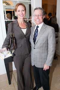 Anna Jacoboski, Bryan Jacoboski. Teach for America Fall Gala Kick-off‏. Photo by Alfredo Flores. Home of Christine Rales. November 7, 2012