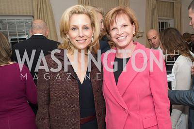 Katherine Bradley, Nancy Fletcher. Teach for America Fall Gala Kick-off‏. Photo by Alfredo Flores. Home of Christine Rales. November 7, 2012