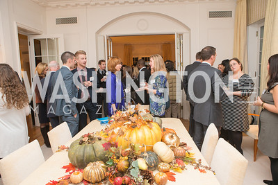Teach for America Fall Gala Kick-off‏. Photo by Alfredo Flores. Home of Christine Rales. November 7, 2012