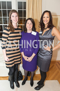 Kelly Mallahan, Joey Sloter, Ahnna Smith. Teach for America Fall Gala Kick-off‏. Photo by Alfredo Flores. Home of Christine Rales. November 7, 2012