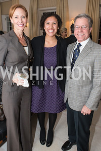 Gloria Molina-Estolano, Bryan Jacoboski, Anna Jacoboski. Teach for America Fall Gala Kick-off‏. Photo by Alfredo Flores. Home of Christine Rales. November 7, 2012