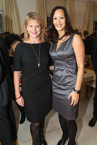Chrissy Kousin, Ahnna Smith. Teach for America Fall Gala Kick-off‏. Photo by Alfredo Flores. Home of Christine Rales