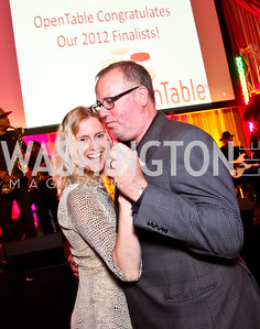 Kristin Connor, Proof owner Mark Kuller. The 2012 Rammy Awards Gala. Photo by Tony Powell. Marriott Wardman Park. June 24, 2012