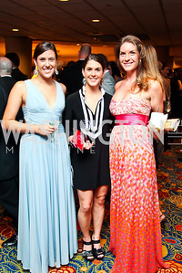 Taylor Silver, Stephanie Halipilias, Amanda Parsons. The 2012 Rammy Awards Gala. Photo by Tony Powell. Marriott Wardman Park. June 24, 2012