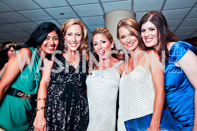Sangi Sarma, Amber Pfau, Nycci Nellin, Amanda McClements, Erin Hartigan. The 2012 Rammy Awards Gala. Photo by Tony Powell. Marriott Wardman Park. June 24, 2012