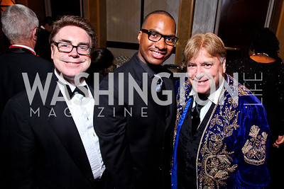 Mark Ohnmacht, Darius Smith, Ed Purcell. The 28th Helen Hayes Awards. Photo by Tony Powell. April 23, 2012