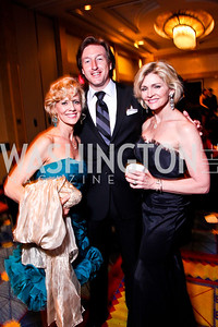 Sandy Bainum, Garrett Smith, Tracy McMullan. The 28th Helen Hayes Awards. Photo by Tony Powell. April 23, 2012