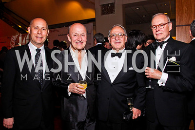 Craig Pascal, Victor Shargai, Frank Guzzetta, Paul Manville. The 28th Helen Hayes Awards. Photo by Tony Powell. April 23, 2012