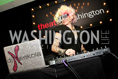 DJ Neekola. The 28th Helen Hayes Awards. Photo by Tony Powell. April 23, 2012