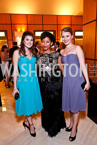 Maria Rizzo, Ashleigh King, Lara Zinn. The 28th Helen Hayes Awards. Photo by Tony Powell. April 23, 2012