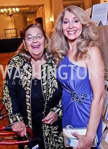 Esther Coopersmith, Janet Pitt. The 34th Annual Ambassadors Ball. Photo by Tony Powell. Ritz Carlton. September 12, 2012