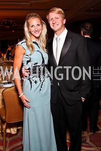 Carrie and David Marriott. The 34th Annual Ambassadors Ball. Photo by Tony Powell. Ritz Carlton. September 12, 2012