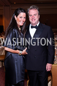 Debbie and Curt Winsor. The 34th Annual Ambassadors Ball. Photo by Tony Powell. Ritz Carlton. September 12, 2012