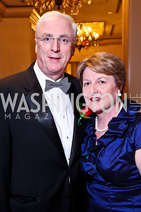 Ireland Amb. Michael Collins and Marie Collins. The 34th Annual Ambassadors Ball. Photo by Tony Powell. Ritz Carlton. September 12, 2012
