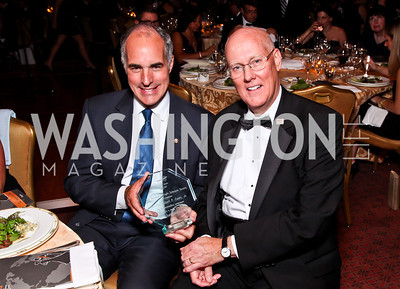 Sen. Bob Casey, MS Chapter President Christopher Broullire. The 34th Annual Ambassadors Ball. Photo by Tony Powell. Ritz Carlton. September 12, 2012