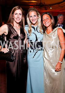 Rene Augustine, Carrie Marriott, Marci Brand. The 34th Annual Ambassadors Ball. Photo by Tony Powell. Ritz Carlton. September 12, 2012