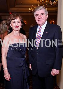 Diane Nelson and Sen. Ben Nelson. The 34th Annual Ambassadors Ball. Photo by Tony Powell. Ritz Carlton. September 12, 2012