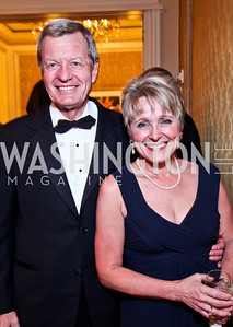 Sen. Max Baucus and Melodee Hanes. The 34th Annual Ambassadors Ball. Photo by Tony Powell. Ritz Carlton. September 12, 2012