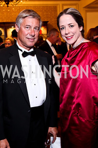 Fred Upton, HEather Podesta. The 34th Annual Ambassadors Ball. Photo by Tony Powell. Ritz Carlton. September 12, 2012