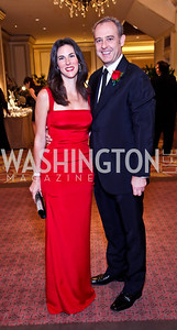 Veronica Valencia and Mexico Amb. Arturo Sarukhan. The 34th Annual Ambassadors Ball. Photo by Tony Powell. Ritz Carlton. September 12, 2012