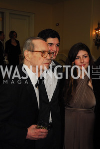 Prince David Chachavadze,Alexander Ramani, Nella Rasic,January 13,2012,The 42nd Russian New Year's Eve Ball,Kyle Samperton