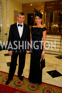 Alex Kariman,Katya Forbes,January 13,2012,The 42nd Russian New Year's Eve Ball,Kyle Samperton