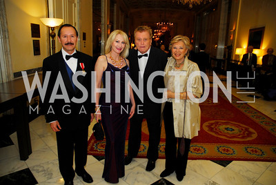 JohnBarrientos,Christina Wallace,William Feighan,Nicole D'Amecourt,January 13,2012,The 42nd Russian New Year's Eve Ball,Kyle Samperton