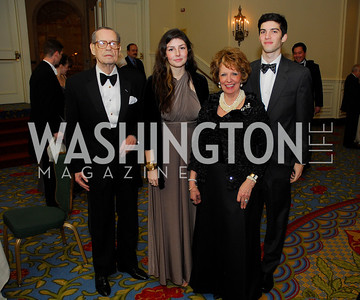 Prince David Chachavadze,Nella Rasic,Princess Eugenie Chachavadze,Alexander Ramani,January 13,2012,The 42nd Russian New Year's Eve Ball,Kyle Samperton