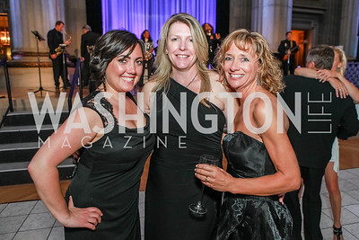 Amanda Corneau, Meg Ferris, Joyce Beckwith. The Children's National Black and White Ball. Mellon Auditorium. May 12, 2012. Photo Alfredo Flores