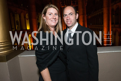 Claire Merrill, Greg Merrill. The Lab School of Washington Awards Gala. Photo by Alfredo Flores. The National Building Museum. November 8, 2012