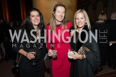 Shireen Salbouriane, Anita Brassart, Alice Taylor. The Lab School of Washington Awards Gala. Photo by Alfredo Flores. The National Building Museum. November 8, 2012