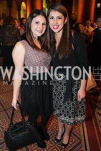 Elisabeth Crisafulli, Meredith Kirchheimer. The Lab School of Washington Awards Gala. Photo by Alfredo Flores. The National Building Museum. November 8, 2012